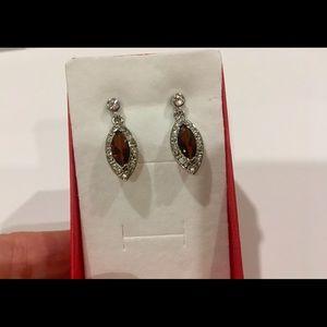 Vintage Avon silver tone earrings.